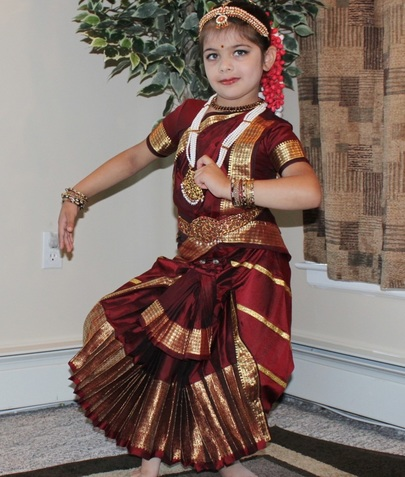 how to dress for bharatanatyam dance